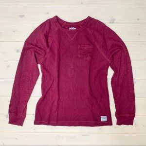 OshKosh Burgundy Long Sleeve Sweater Size 14 Girls